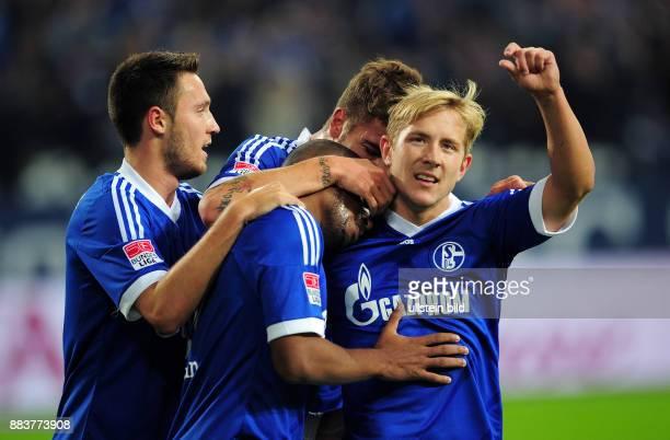 5 Spieltag Saison 2012/2013 FUSSBALL 1 BUNDESLIGA SAISON FC Schalke 04 FSV Mainz 05 0 Marco Hoeger Jefferson Farfan und Lewis Holtby