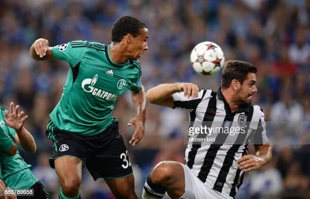 FUSSBALL CHAMPIONS FC Schalke 04 Paok Saloniki Joel Matip gegen Alexandros Tziolis
