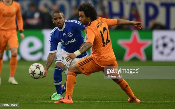FUSSBALL CHAMPIONS FC Schalke 04 Real Madrid Jefferson Farfan gegen Marcelo