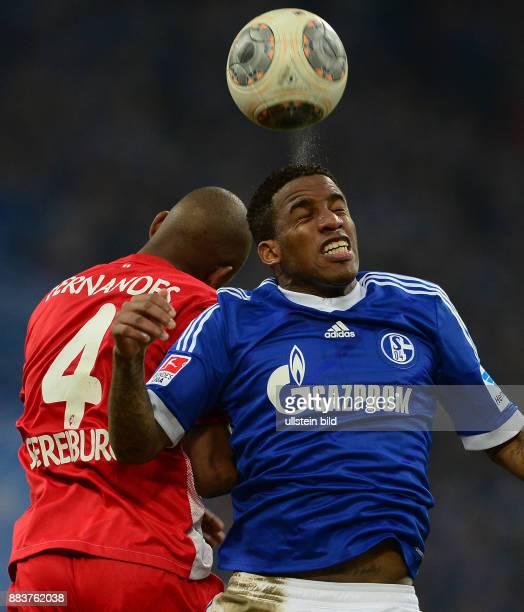FUSSBALL 1 BUNDESLIGA SAISON FC Schalke 04 SC Freiburg Gelson Fernandes gegen Jefferson Farfan