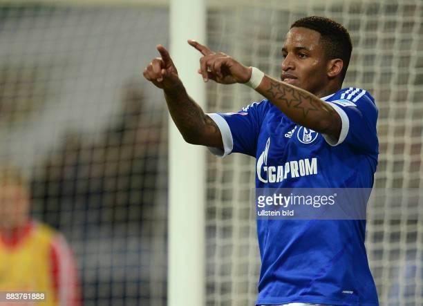 FUSSBALL 1 BUNDESLIGA SAISON FC Schalke 04 SC Freiburg 0 Torschuetze Jefferson Farfan