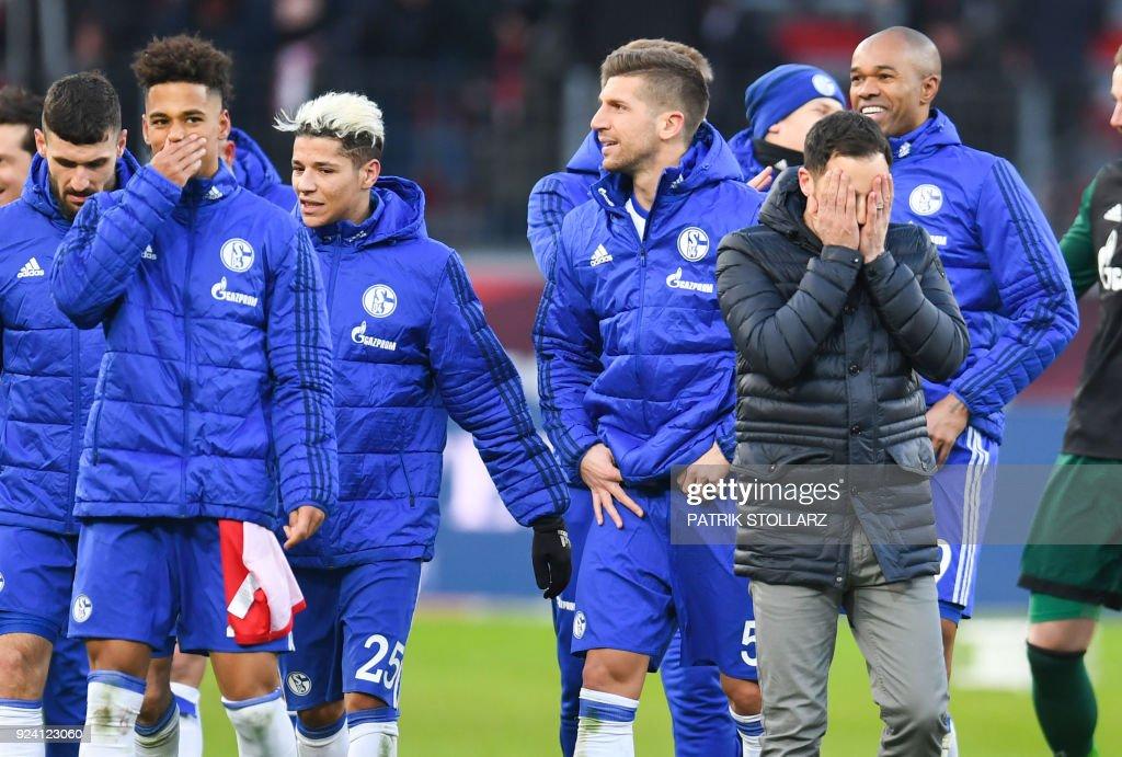 Die Schalker Mannschaft