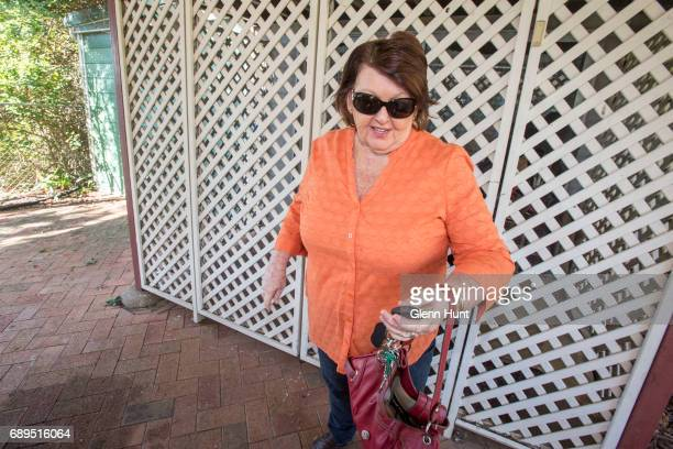 Schapelle Corby's mother Rosleigh Rose leaves her residence in Loganlea south of Brisbane on May 29 2017 in Brisbane Australia Schapelle Corby...