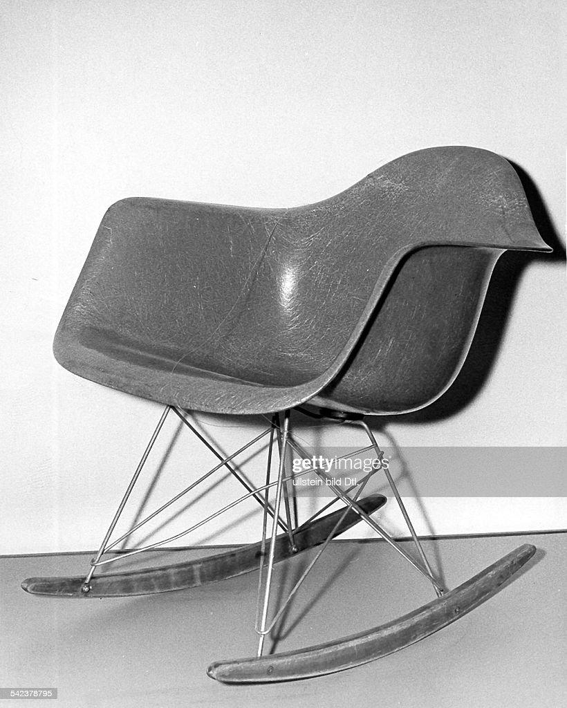 Stuhl Von Charles Eames : News Photo