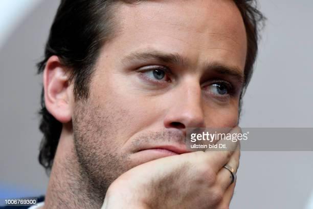 Schauspieler Armie Hammer während der Pressekonferenz zum Film FINAL PORTRAIT anlässlich der 67 Berlinale