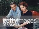 Schauspieler, D mit seiner Ehefrau Gisela während des Urlaubs auf Usedom - Juli 1996
