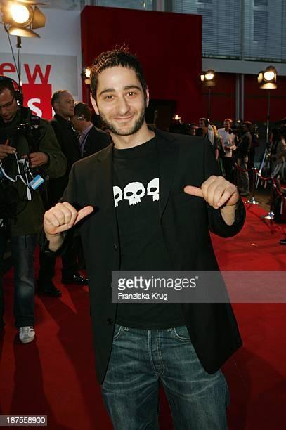 Schauspieler Denis Moschitto Bei Der Verleihung Des Nachwuchspreises New Faces Award Der Zeitschrift Bunte Im Bcc In Berlin Am 070705