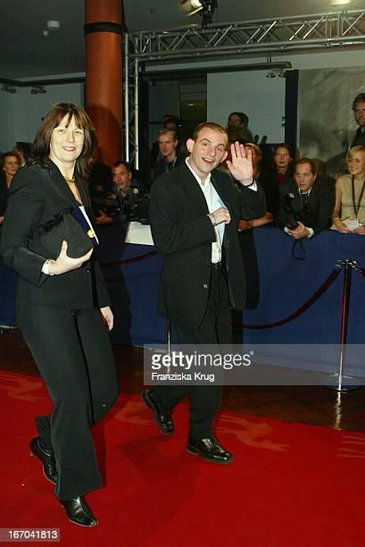 Schauspieler Dominique Horwitz Ehefrau Patricia Bei Der 54 Verleihung Des Medienpreises Bambi