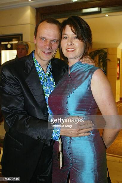 Schauspieler Edgar Selge Und Ehefrau Franziska Walser Bei Gala Vip Lounge In München