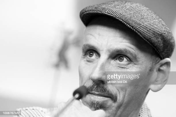 Schauspieler Ewen Bremner bei der Pressekonferenz zum Film T2 TRAINSPOTTING anlässlich der 67 Berlinale