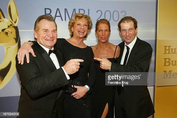 Schauspieler Fritz Wepper Ehefrau Angela * Christina Keiler Lesch Ehemann Michael Lesch Bei Der Bambi Party Die Preisträger Feiern Bei Der Aftershow...