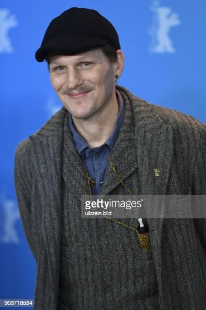 Schauspieler Georg Friedrich beim Photocall zum Film WILDE MAUS anlässlich der 67. Berlinal