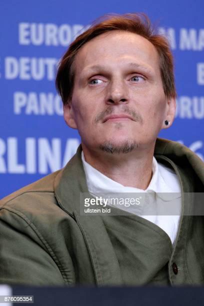 Schauspieler Georg Friedrich während der Pressekonferenz zum Film -Aloys- anlässlich der 66. Internationalen Filmfestspiele Berlin