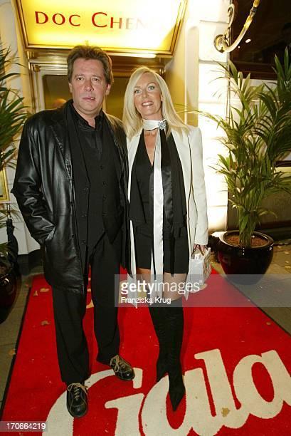Schauspieler Jan Fedder Mit Ehefrau Marion Bei Der Gala Vip Lounge Im Doc Cheng'S In Hamburg