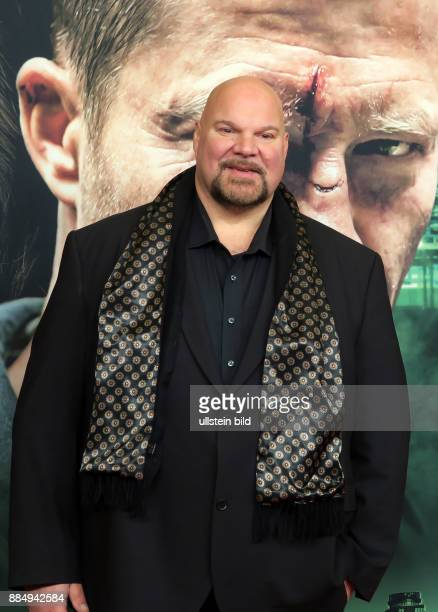 Schauspieler Jörg Moukaddam aufgenommen bei der Premiere vom ARD Tatort Der grosse Schmerz im Kino Babylon in Berlin Mitte