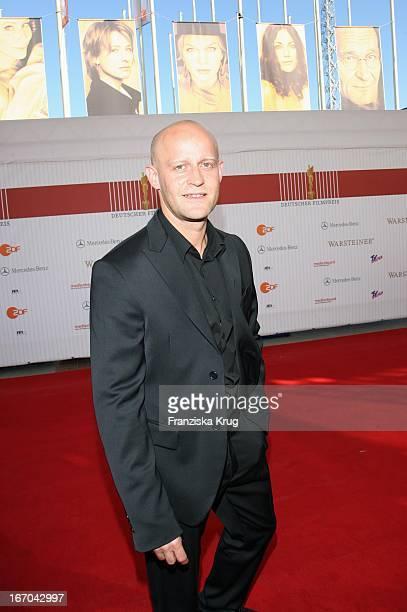 """Schauspieler Jürgen Vogel Bei Der Ankunft Zum Deutschen Filmpreis 2007 """"Lola"""" In Berlin ."""