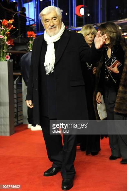 Schauspieler Mario Adorf anlässlich der Eröffnung der 67 Berlinale mit dem Film DJANGO