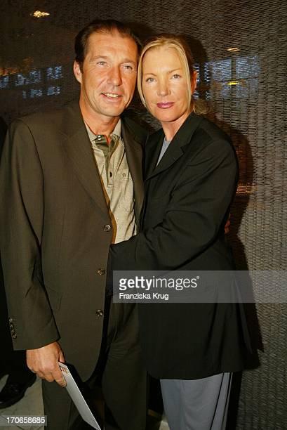 Schauspieler Michael Lesch Ehefrau Christina Bei Reemtsma Medientreff In Hamburg