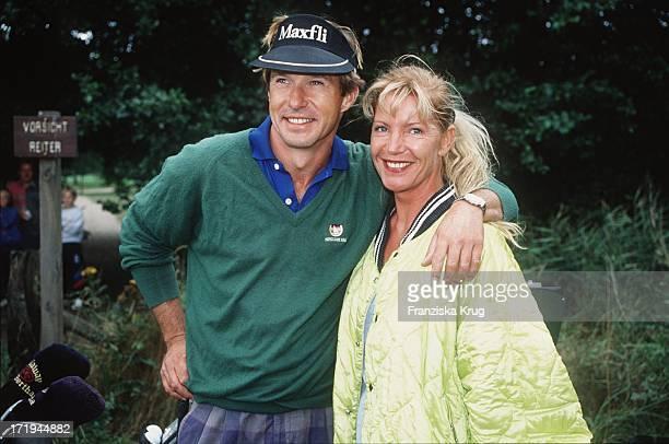 Schauspieler Michael Lesch Freundin Christina Keiler Bei Ottifanten Cup 1994