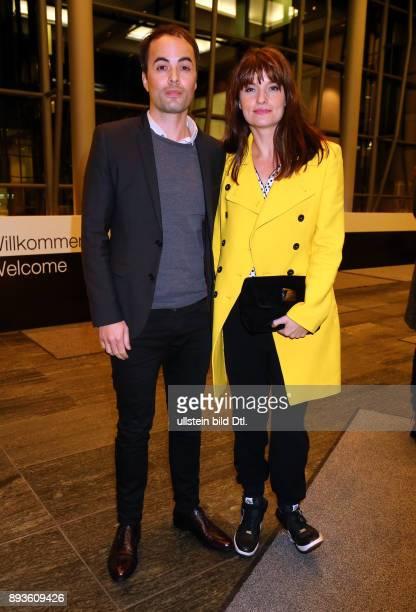 Schauspieler Nikolai Kinski und Freundin Ina Paule Klink bei dem Empfang nach der Premiere des Filmes > Bridge Of Spies Der Unterhaendler < im...