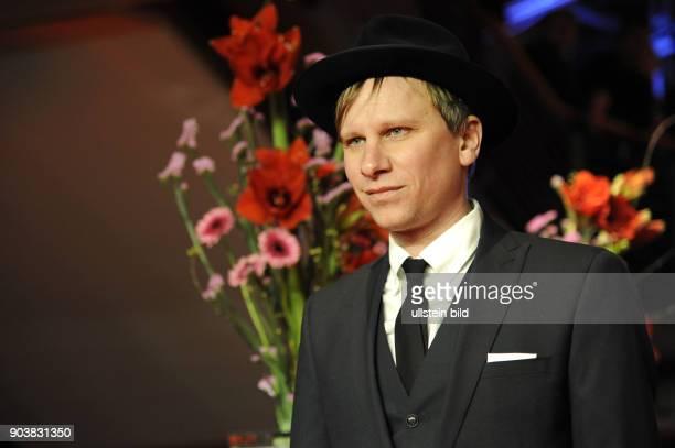 Schauspieler Robert Stadlober anlässlich der Eröffnung der 67 Berlinale mit dem Film DJANGO