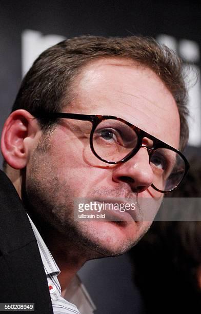 Schauspieler Samuel Finzi anlässlich des RadioEins Nighttalk am Rande der 58 Berlinale in Berlin