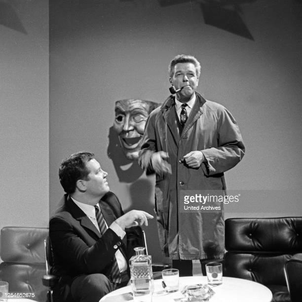 Schauspieler sin Schauspieler Fernsehfilm Deutschland 1966 Darsteller Heinz Drache Wim Thoelke