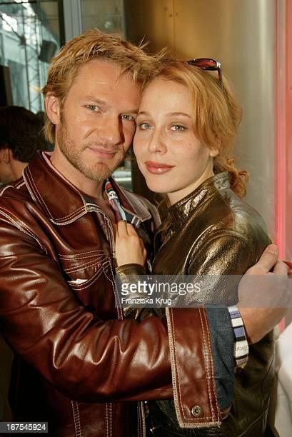 Schauspieler Thure Riefenstein Freundin Patricia Lueger Beim Pro 7 Brunch Im Sony Center 130202