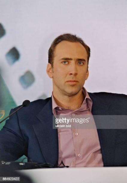 Schauspieler USA Porträt während einer Pressekonferenz im Interconti Berlin
