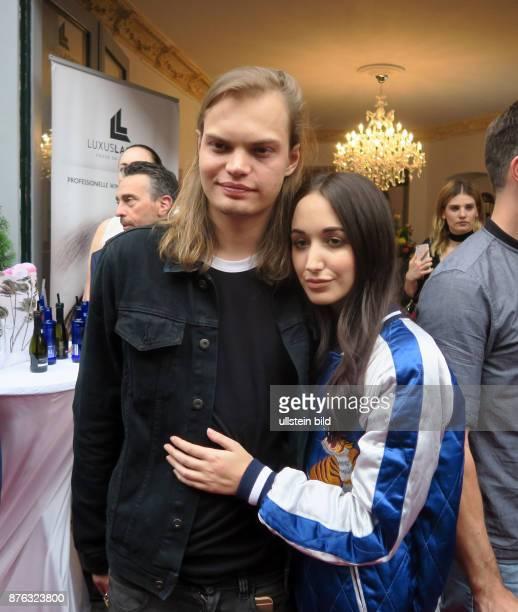 Schauspieler Wilson Gonzalez Ochsenknecht und Freundin Lorraine Bedros aufgenommen bei der Eröffnung vom Shop Luxus Lashes von Natascha Ochsenknecht...