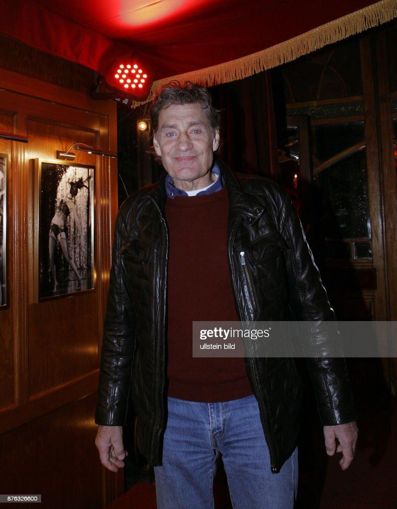 Schauspieler Winfried Glatzeder aufgenommen bei der Wiederaufnahme ...