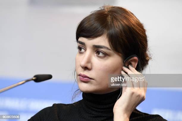 Schauspielerin Algi Eke bei der Pressekonferenz zum Film KAYGI/INFLAME während der 67 Berlinale