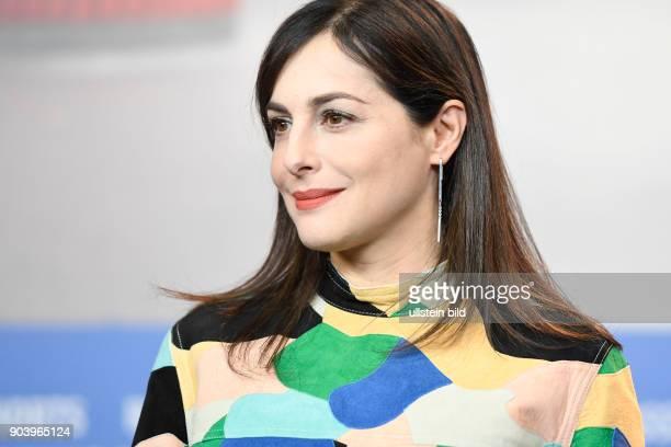Schauspielerin Amira Casar während der Pressekonferenz zum Film CALL ME BY YOUR NAME anlässlich der 67 Berlinale