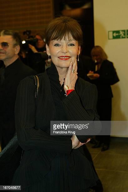 Schauspielerin Angelica Domröse Bei Der Verleihung Des Bz Kulturpreis In Berlin Am 270104