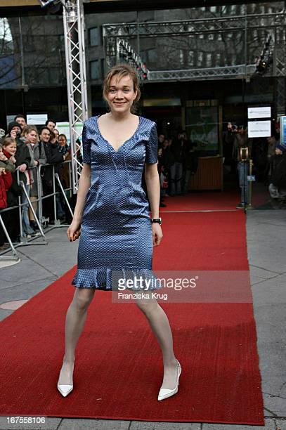 Schauspielerin Angelika Richter Bei Der 'Der Räuber Hotzenplotz' Premiere Bei Der Berlinale Am 120206