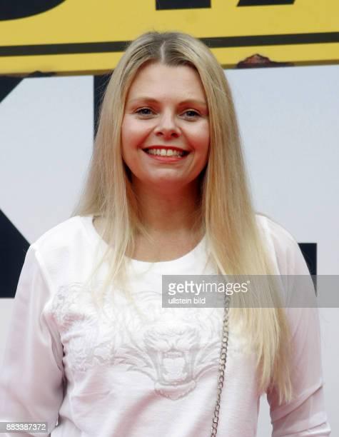 Schauspielerin Anne Sophie Briest aufgenommen bei der Premiere des Films 'Grossstadtklein' im Kino der Kulturbrauerei in Berlin