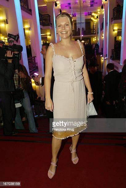 Schauspielerin Anne Sophie Briest Bei Der Verleihung Der Goldenen Henne Im Berliner Friedrichstadt Palast