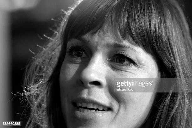 Schauspielerin Anneke Kim Sarnau beim RadioEins BerlinaleNighttalk am Rande der 66 Internationalen Filmfestspiele Berlin