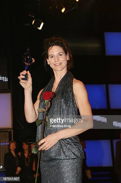 Schauspielerin Bibiana Beglau Bei Der 43 Verleihung Des Adolf Grimme Preis Im Theater In Marl Am 300307