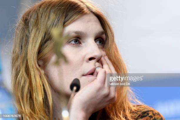 Schauspielerin Clemence Poesy während der Pressekonferenz zum Film FINAL PORTRAIT anlässlich der 67 Berlinale