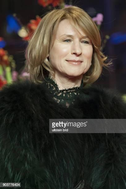 Schauspielerin Corinna Harfouch anlässlich der Eröffnung der 67 Berlinale mit dem Film DJANGO