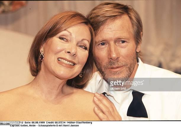 Schauspielerin D mit ihrem Kollegen Horst Janson 1999