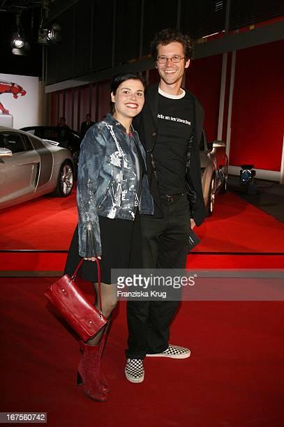 Schauspielerin Katharina Wackernagel Mit Jonas Grosch Bei Der Verleihung Der New Faces Awards Im Bcc In Berlin Am 030407