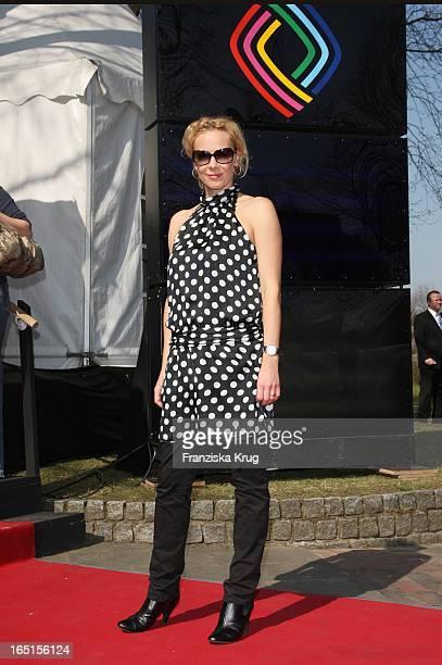 Schauspielerin Katja Riemann Beim Empfang Am Nachmittag Vor Der Grimme Preisverleihung Im Adolf Grimme Institut In Marl
