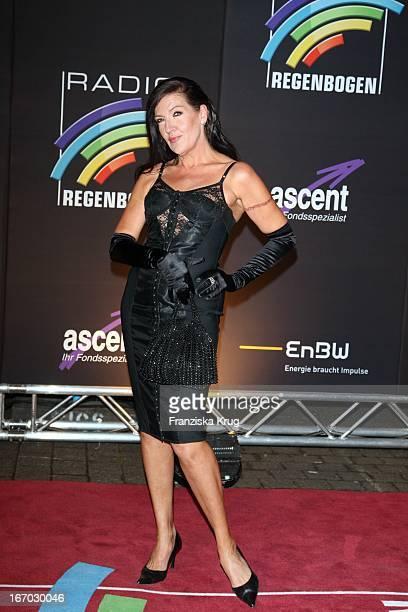 Schauspielerin Katy Karrenbauer Bei Der Verleihung Des Medienpreis Radio Regenbogen Award Der Medienpreis Aus Baden Württemberg In Der...