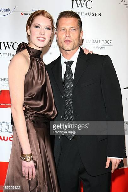 Schauspielerin Lauren Lee Smith Und Schauspieler Til Schweiger Beim 34 Deutschen Filmball Im Hotel Bayerischer Hof In München Am 200107