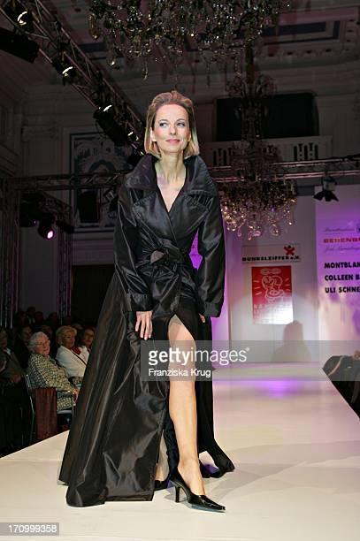 Schauspielerin Mareike Carriere Beim 'Event Prominent' Zugunsten Hamburg Leuchtfeuer Und Dunkelziffer E V Im Hotel Atlantic In Hamburg