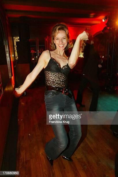 Schauspielerin Mareike Carriere Tanzt Bei Gala Vip Lounge In Hamburg