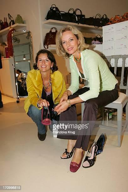 Schauspielerin Mareike Carriere Und Claudia Obert Beim 'FashionCharityDay' Unter Dem Motto 'Engel Für Sternipark' Zugunsten Von 'Sternipark EV' Bei...