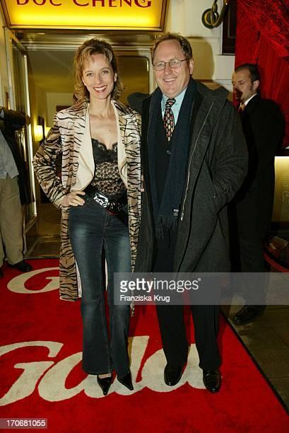 Schauspielerin Mareike Carriere Und Ehemann Gerd Klement Bei Gala Vip Lounge In Hamburg